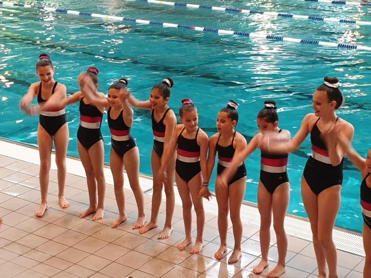 Le Puy en Velay, natation synchronisée