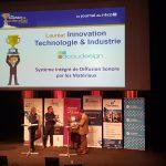 Acoudesign remporte 2 prix aux trophées de l'innovation du journal de l'éco